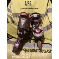 Patines extensibles tallas 37 / 40 (E5)