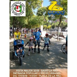 2018/06/17 Passejada Popular Festa Major La Pau