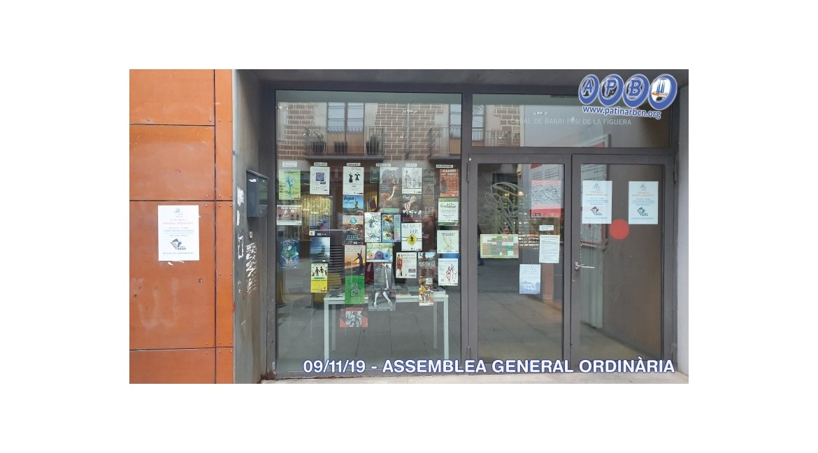 2019/11/09 Ordinary General Assembly
