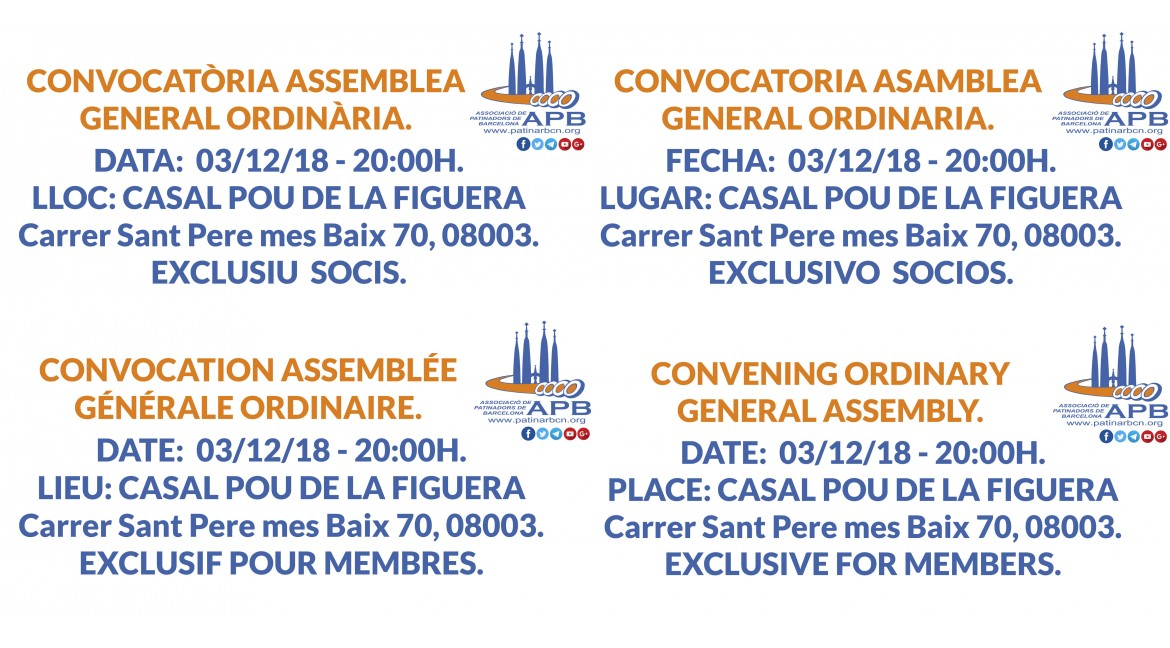 2018/12/03 Convening Ordinary General Assembly