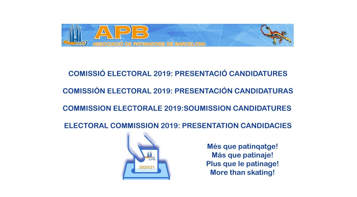 2019/12/05 Presentation of Candidacies 2019