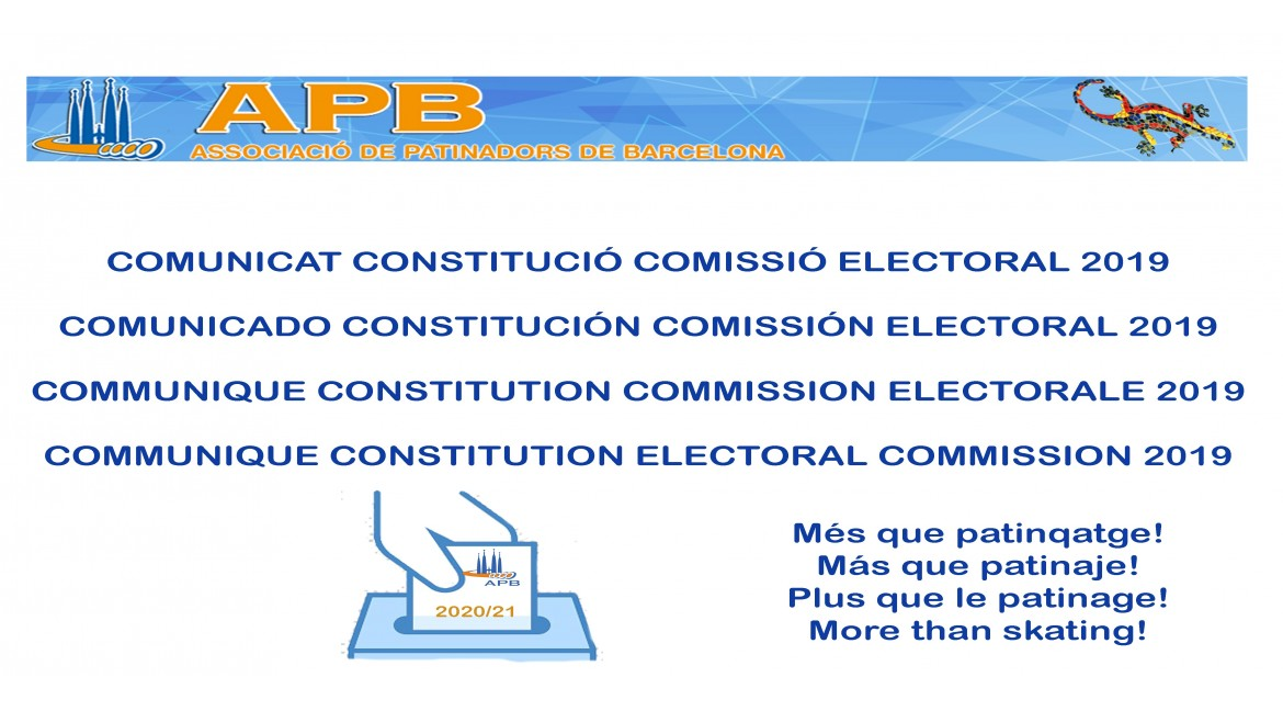 2019/11/16 Cimunique Constitution Electoral Commission 2019