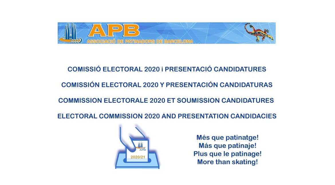2020/01/18 Electoral Comision  and Presentation Candidacies  2020